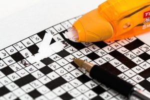 crossword puzzle, mistakes, corrections, strategy, growth